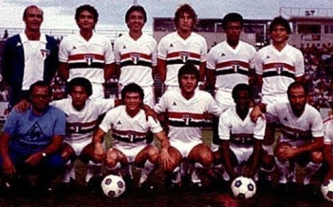 Defensor Sporting 1 x 3 São Paulo - 17/08/1982