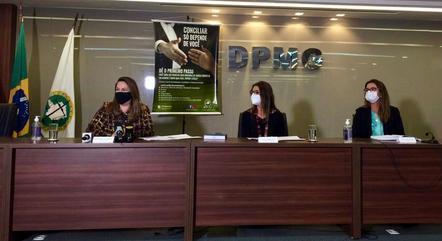 Reunião aconteceu na Defensoria Pública de Minas