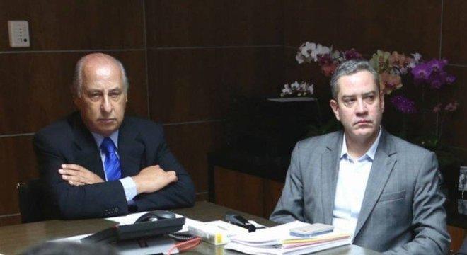 Del Nero, banido do futebol, com Rogério Caboclo, eleito presidente da CBF