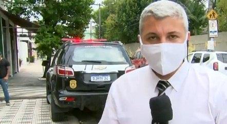 Delegado Eliardo Amoroso Jordão, responsável pelo caso