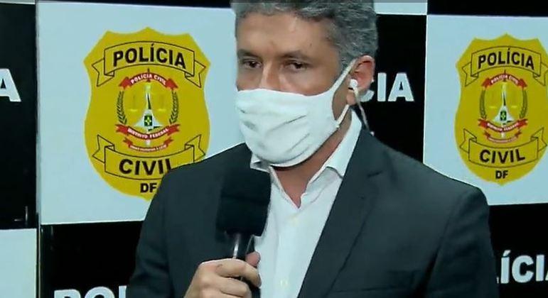 Delegado Raphael Seixas fala ao Cidade Alerta