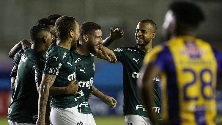 Delfín 1 x 3 Palmeiras - Copa Libertadores 2020 - Oitavas de final - Ida