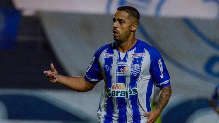 Dellatorre (CSA): o CSA tem o melhor ataque do Campeonato Alagoano, com 16 gols marcados, e os três gols de Dellatorre, colocaram o time em boa situação no estadual.