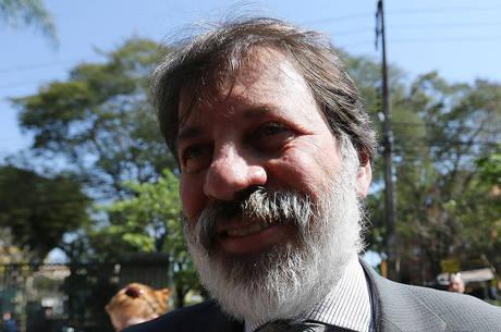 O ex-tesoureiro do PT Delúbio Soares