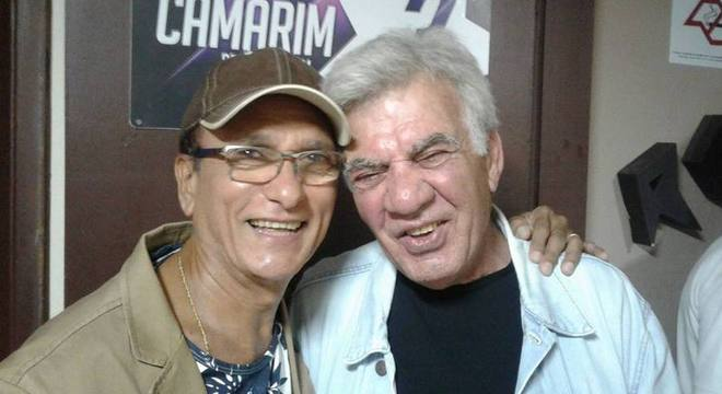 Os cantores e amigos Claudio Fontana e Demétrius