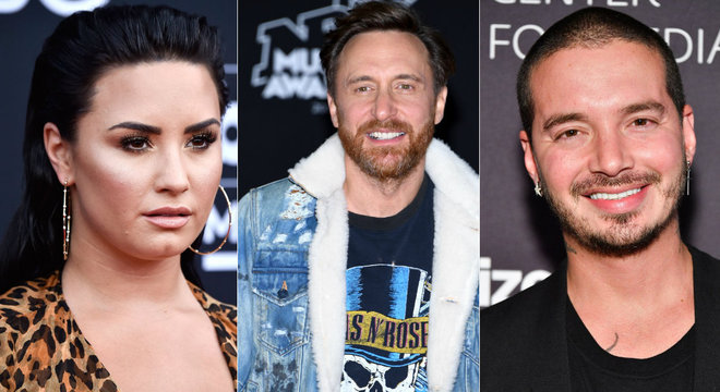 Parceria entre Lovato, David Guetta e J Balvin tinha sido confirmada por Spotify