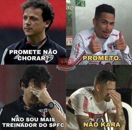 Demissão de Fernando Diniz do São Paulo inspira memes nas redes sociais