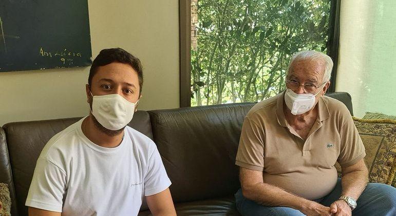 O prefeito de Nova Lima, João Marcelo Dieguez anunciou a demissão em suas redes sociais