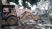 Prefeitura do Rio derruba imóveis construídos pela milícia