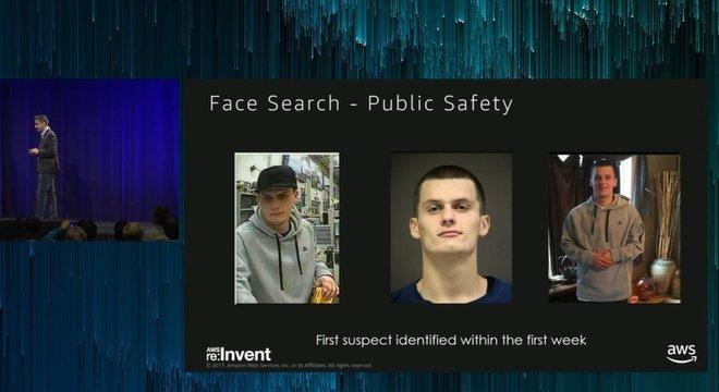 Amazon promoveu sua tecnologia de reconhecimento facial como uma ferramenta para combater crimes