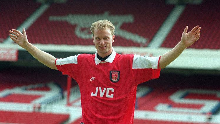 Dennis Bergkamp: Escolhido pelo voto popular para entrar no Hall da Fama. Clube na Premier League - Arsenal. Posição - Atacante