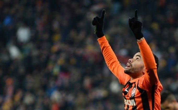 Dentinho: meio-campista do Shakhtar Donetsk desde 2011; contrato até junho de 2021 e valor de mercado de 1 milhão de euros (R$ 6,3 milhões).