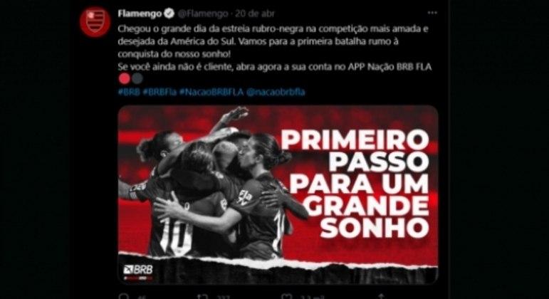 Denúncia da Conmebol contra o Flamengo