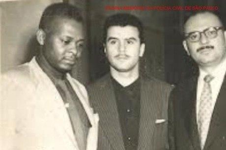 Delegado Antonio Deodato da Fonseca (à esquerda)