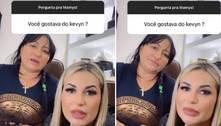 Mãe de Deolane Bezerra diz que não gostava de MC Kevin