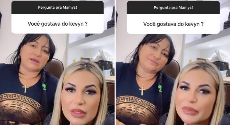 Mãe de Deolane Bezerra, Solange, comenta o que achava de MC Kevin