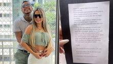 Viúva de MC Kevin rebate na web acusações de ter forjado mensagem