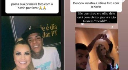 Deolane Bezerra revela primeira e última foto ao lado de MC Kevin