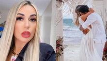 Viúva de MC Kevin revela dormir abraçada com roupas do cantor