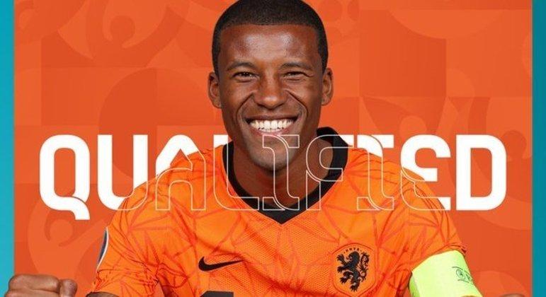 """Depay, da """"Oranje"""", qualificada no Grupo C"""
