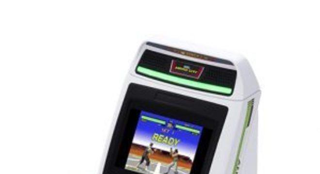 Depois de mini consoles, Sega lançará mini fliperama Astro City Mini