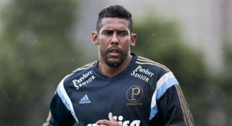 Aranha foi campeão da Copa do Brasil pelo Palmeiras, em 2015