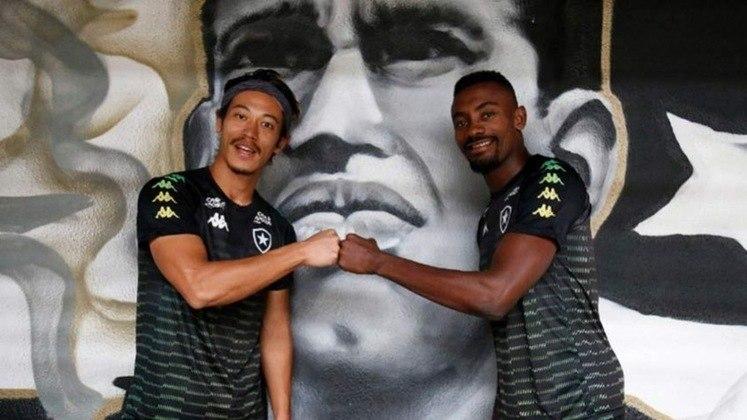 Depois de Seedorf, o Botafogo voltou a contratar jogadores de nível mundial em 2020. Keisuke Honda e Salomon Kalou foram as apostas da diretoria para a temporada. Em campo, contudo, a dupla não se entendeu muito bem - principalmente o marfinense, com, até aqui, uma passagem apagada no Brasil.