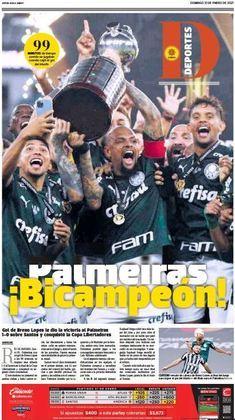 Deportes - Jornal do México colocou o título do Palmeiras na capa