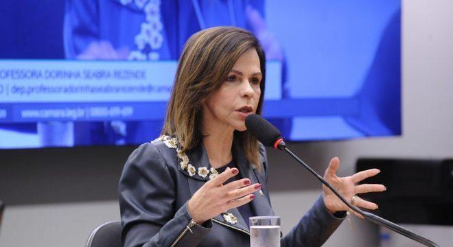 Na imagem, a deputada federal professora Dorinha (DEM-TO),