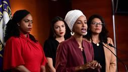 Após ataque racista, deputados aprovam nota de repúdio contra Trump (Erin Scott/Reuters - 15.7.2019)