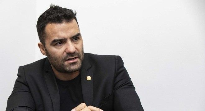 O deputado estadual Arthur do Val e pré-candidato do Patriota à Prefeitura de SP
