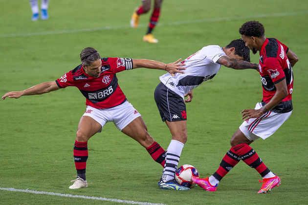 Derrota amarga e fim de invencibilidade contra o Vasco. Nesta quinta-feira, o Flamengo não teve boa atuação coletiva e perdeu por 3 a 1 para o rival, no Maracanã. Confira as notas! (Por Núcleo Flamengo - reporterfla@lancenet.com.br)