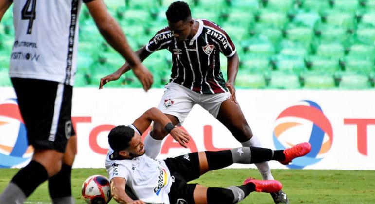 Derrota para o Fluminense tirou as chances de classificação do Botafogo