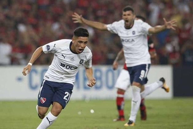 Derrota na final Copa Sul-Americana de 2017: Flamengo perdeu no jogo de ida e empatou na volta contra o Independiente, da Argentina. Dessa forma, acabou com o vice-campeonato