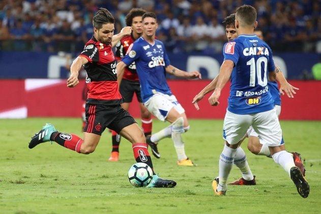 Derrota na final da Copa do Brasil de 2017: Flamengo foi superado pelo Cruzeiro nos pênaltis.