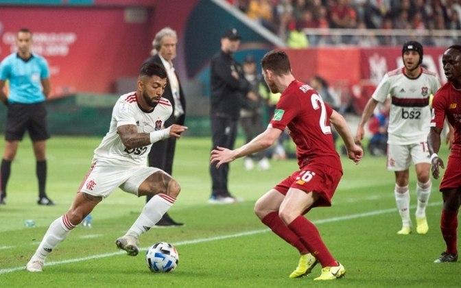DERROTAS - 4 / Sim, só quatro vezes Jesus saiu derrotado (tempo regulamentar ou na prorrogação). Aliás, foi no tempo extra o revés mais doloroso: diante do Liverpool, por 1 a 0, na final do Mundial de Clubes de 2019.