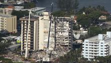 Buscas por vítimas em prédio que desabou nos EUA são suspensas