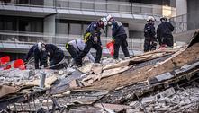 Incêndio atrapalha buscas em prédio que desabou nos EUA