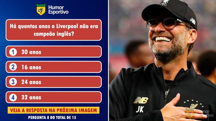 Desafio: acerte a resposta correta sobre o campeão da Premier League
