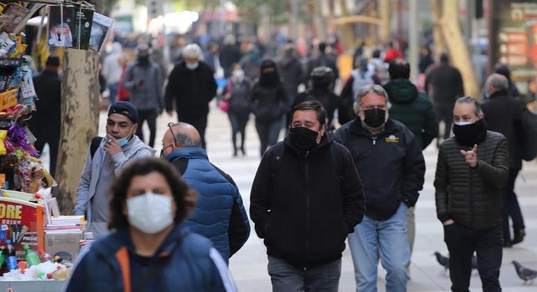 Hospitais chilenos estão à beira do colapso por conta da covid-19