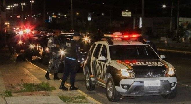 Desde quarta-feira, 110 suspeitos foram presos e dois morreram em confronto com policiais Crédito: Kleber Gonçalves / Futura Press / Estadão Conteúdo / R7 / CP