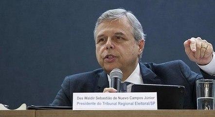 Desembargador Waldir Sebastião de Nuevo Campos Júnior, do TRE-SP