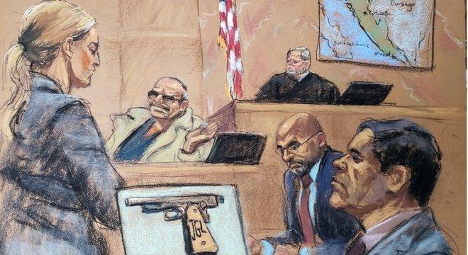 Chapo é o maior traficante até hoje julgado nos EUA