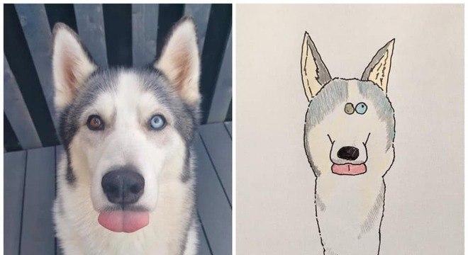 O artista está fazendo o máximo possível para atender todas pessoas que mandam fotos dos bichos