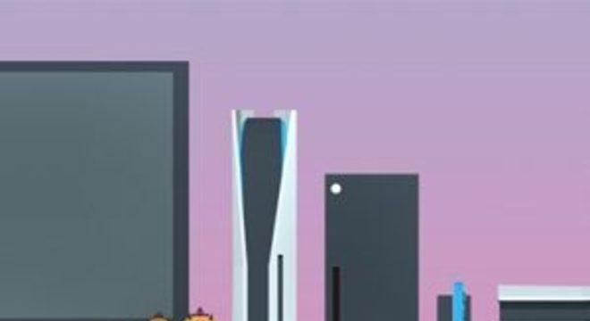Desenhos mostram como PS5 gigantesco ficará na sua sala