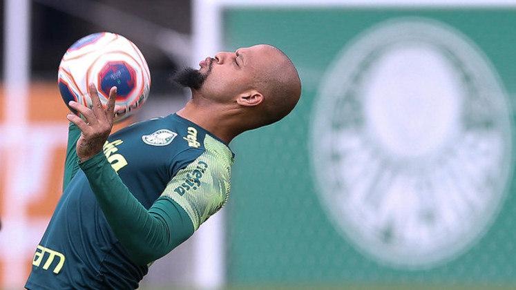 DESFALQUE - Felipe Melo: Operou o tornozelo esquerdo após se machucar na vitória sobre o Vasco e ficará fora por até quatro meses.