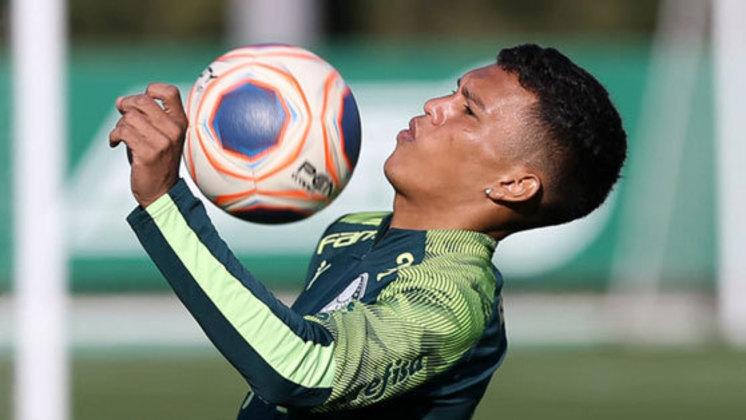 DESFALQUE - Gabriel Veron: Teve a Covid-19 confirmada no domingo (15) e se tornou problema para Abel Ferreira.