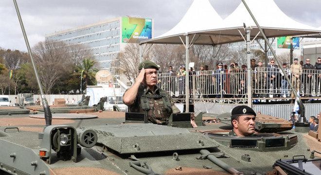 Forças Armadas em participação de celebrações do 7 de Setembro