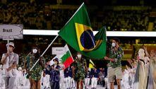 Vibe churrasco: traje do Brasil rouba a cena na festa da Olimpíada