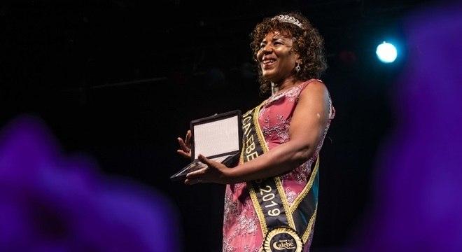 Elisabeth foi a vencedora do 'Miss Melhor Idade'